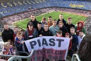 Piast trenował i wypoczywał w Hiszpanii